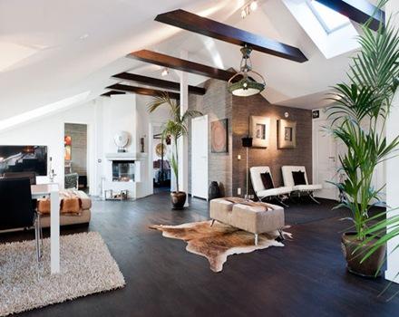 atico-vigas-de-madera-decoracion-interior-estocolmo