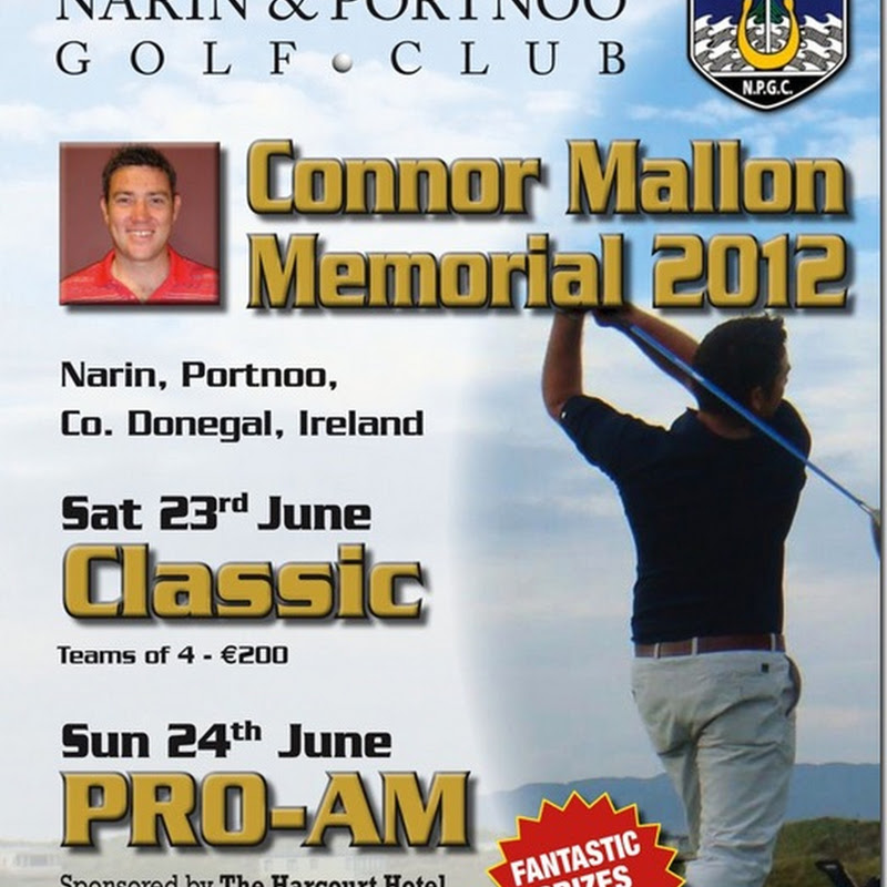 Join Us at The Connor Mallon Memorial 2012, Classic and Pro-Am