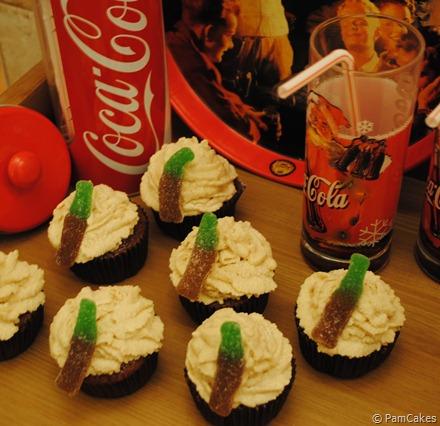 Cupcakes de Coca-Cola