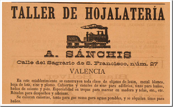 1888 hojalateria sanchis