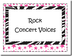 Rock Concert Voices
