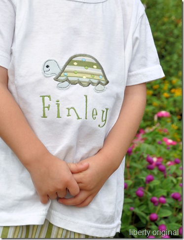 Finley Turtle Shirt Close