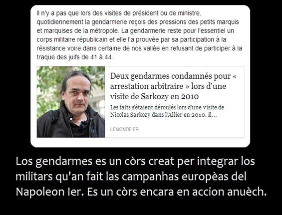 Bonapartisme gendarmes