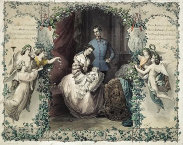 Durante su matrimonio con el Emperador Francisco José.