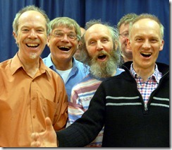 Men's singing workshop 2012