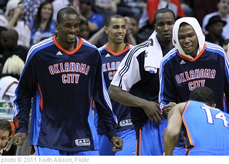 'Oklahoma City Thunder' photo (c) 2011, Keith Allison - license: http://creativecommons.org/licenses/by-sa/2.0/