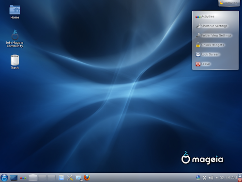 Mageia 2 Beta 3 - KDE