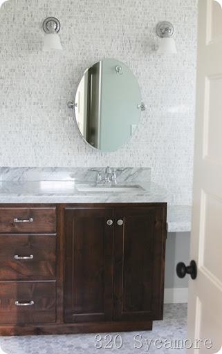 Good master bathroom sycamore