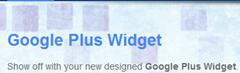 g widget