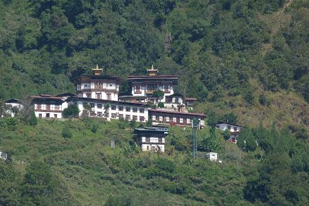 Manastire calugarite budiste Bhutan
