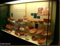 Terra sigillata - Calahorra - Museo de la Romanización