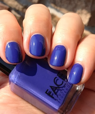 Face Stockholm Nail Polish in 168 Cream Crocus