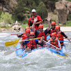 Rafting in Colorado River