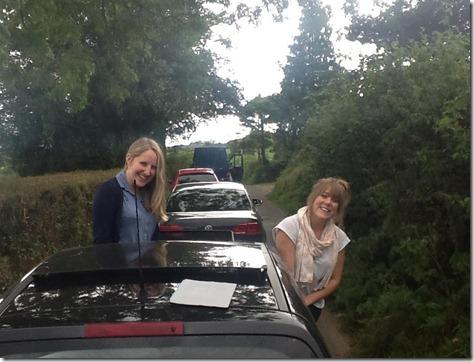 Cornwall traffic jams