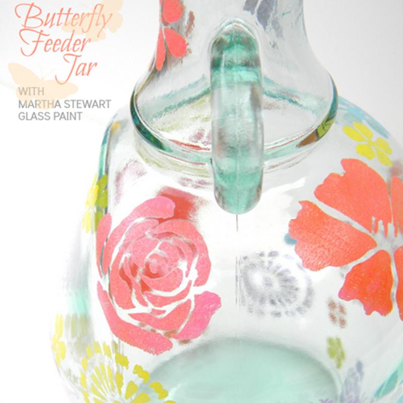Celebrations: Spring Butterfly Feeder Jar