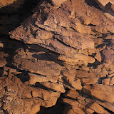 Limestone in Honeycomb Cave - Karamea, New Zealand