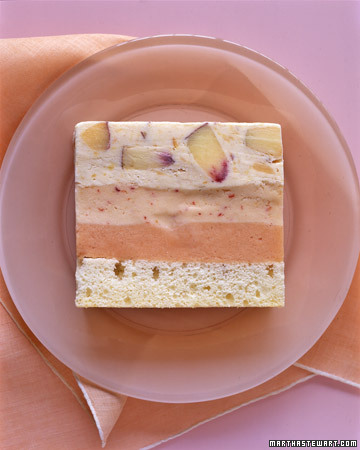 Cream Ice Cream Cake. (marthastewart.com/354975/peaches-and-cream-ice ...