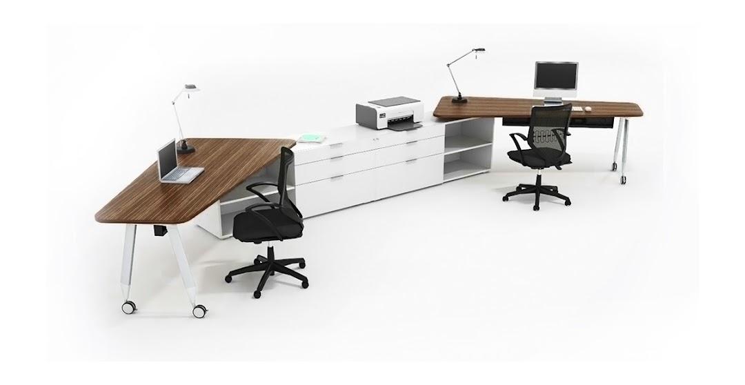 Sistema de mobiliario muebles de oficina modulos de for Muebles de oficina para 4 personas