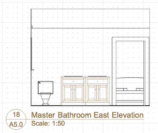 Bathroom Interior Elevations. Bathroom Door Elevation Home