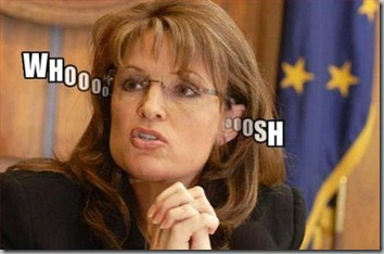 Palin empty head small