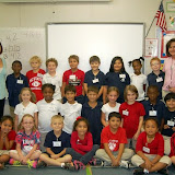 WBFJ Cici's Pizza Pledge - Union Cross Elementary - Mrs. Reaves 2nd Grade Class - Winston-Salem - 9-