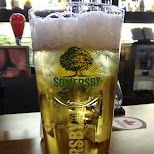 time for a SOMERSBY beer at BOSTON PIZZA in Toronto, Ontario, Canada