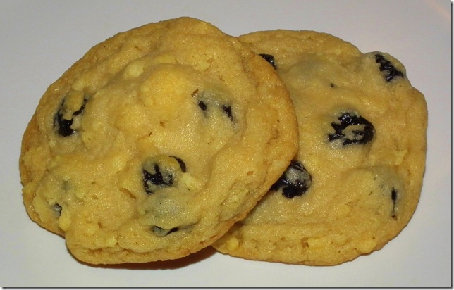 Blueberries and Cream Cookies (March SRC)