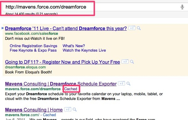 Http mavens force com dreamforce  Google Search 1