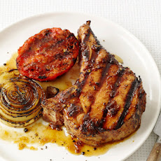 Bourbon Barbecued Pork Chops