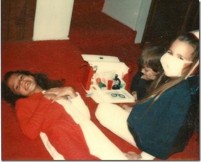lisa & cathy circa 1972