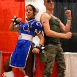Guile VS Chun-Li at Fanexpo 2014 in Toronto, Ontario, Canada