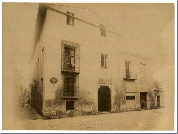 1900 Colegio Sordomudos y Ciegos. Anonim 1900
