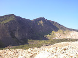 Papandayan crater walls with the 2nd highest Papandayan summit on the left (Daniel Quinn, August 2011)