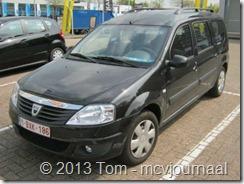 Dacia Logan MCV in Belgie 01