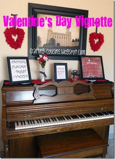 valentine's day vignette
