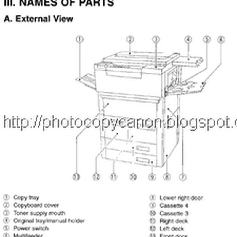 Buku Service Manual Canon NP 6050