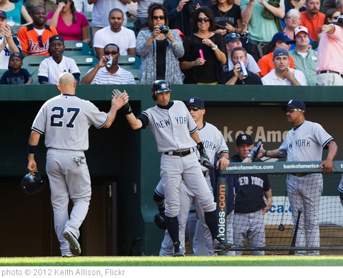 'Raul Ibanez, Ichiro Suzuki' photo (c) 2012, Keith Allison - license: http://creativecommons.org/licenses/by-sa/2.0/