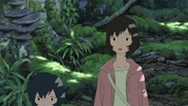 Ookami Kodomo no Ame to Yuki - Movie - Large 62