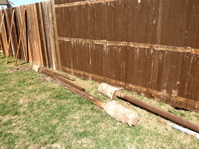 How to Build a New Fence Using Old Scraps www.stylewithcents.blogspot.com. 8