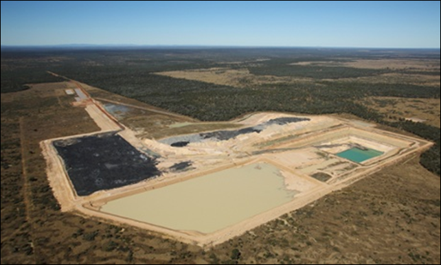 The Alpha Coal project in central Queensland. Green groups are threatening legal action action to prevent the nearby Kevin's Corner mine, which would be the largest in Australia, from going ahead. Photo: Andrew Quilty / AAP