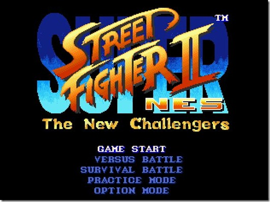 Super Street Fighter 2 NES fan game (5)