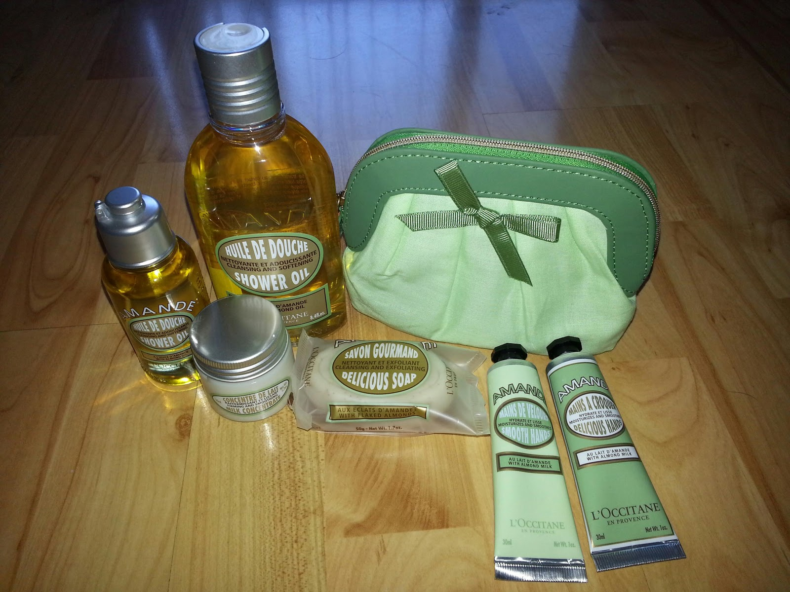 Yesterday I Stopped By LOccitane Shop To Pick Up A Birthday Present For My Friend Got Her Picnic In Provence Collection