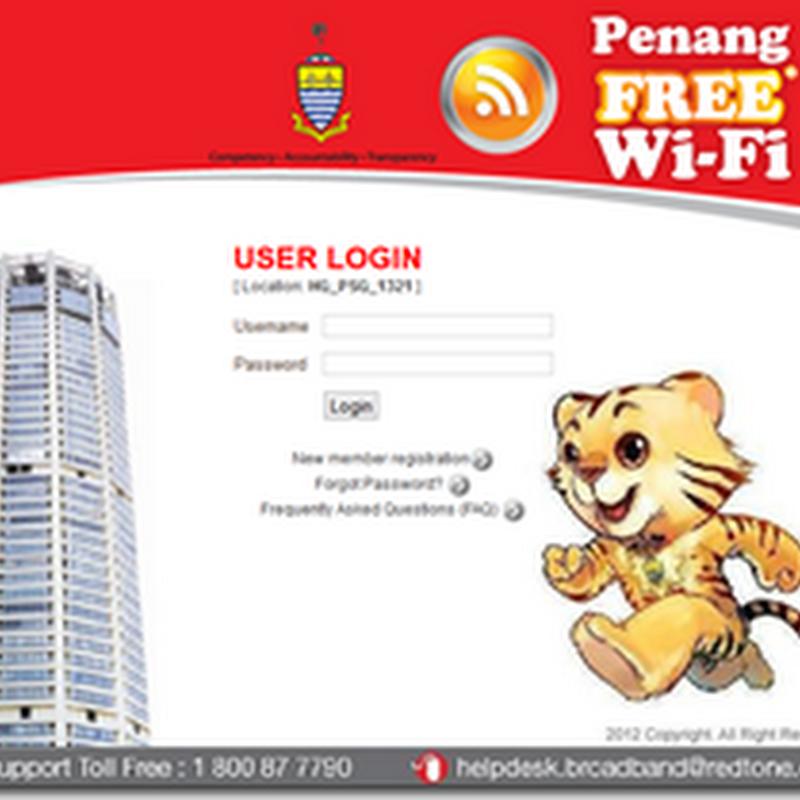 Penang Free Wifi !!