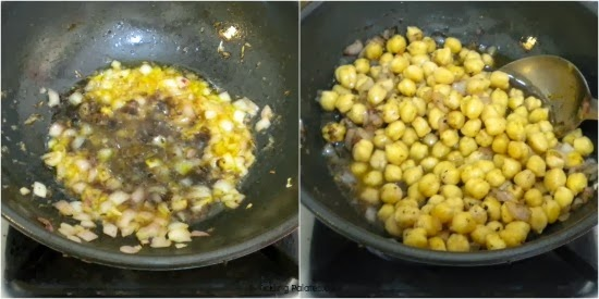 How to make Aloo Chana masala