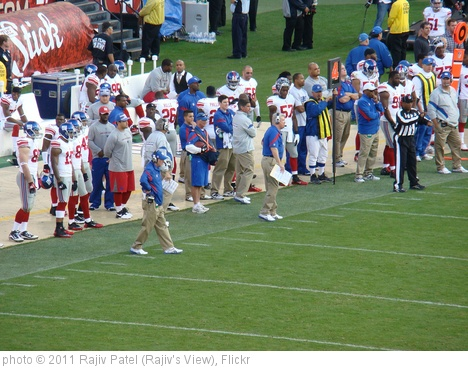 'Tom Coughlin Watches Giants' photo (c) 2011, Rajiv Patel (Rajiv's View) - license: http://creativecommons.org/licenses/by-nd/2.0/