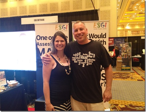Greg for ESGI & Teacher to the Core take over Vegas