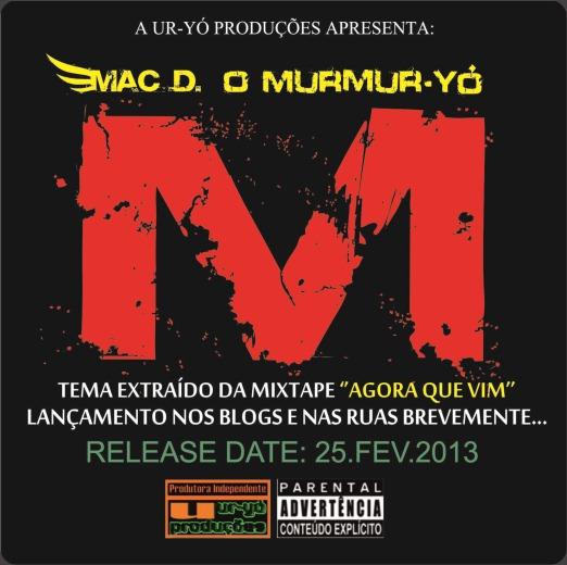 Mac D. o Murmur-Yó - ''M'' [Capa Oficial]