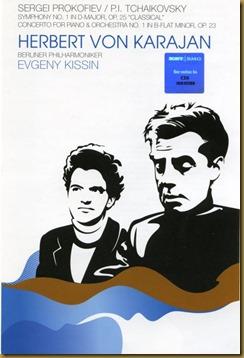 Prokofiev Sinfonía Clásica Karajan DVD