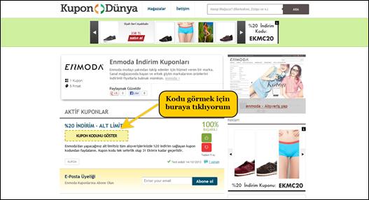 enmoda.com indirim kuponu