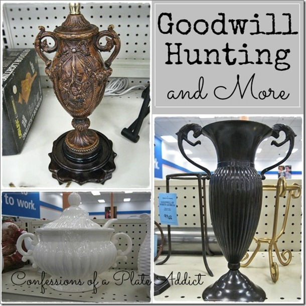 CONFESSIONS OF A PLATE ADDICT Goodwill Hunting and More